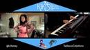 Kiki's Delivery Service - Umi No Mieru Machi (violin piano)