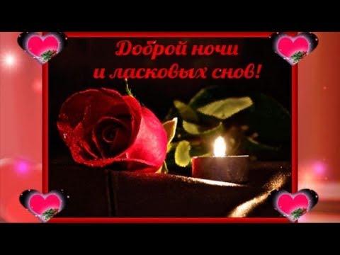 Спокойной ночи любимая моя
