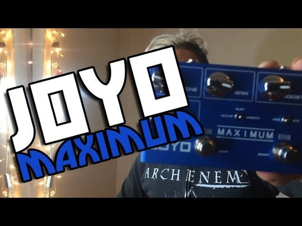 Joyo Maximum Overdrive con Booster