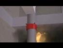 Принцип работы противопожарной муфты!