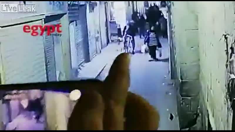 Смертник подорвался в Египте