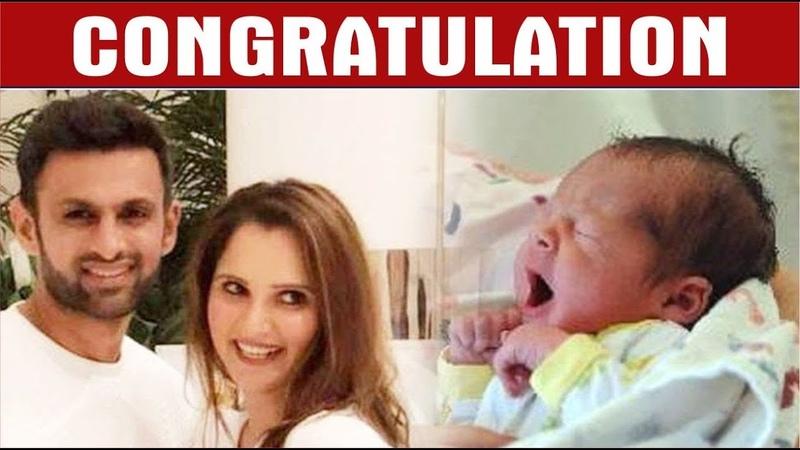 Sania Mirza Blessed With A Baby Boy Shoaib Malik Farah Khan