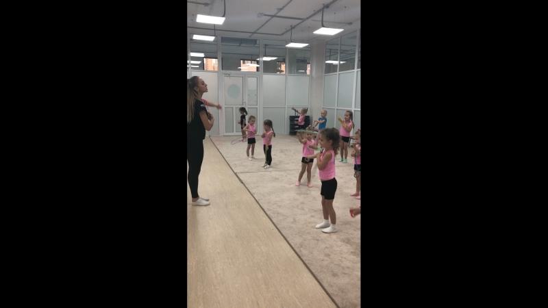 Наши гимнастки! ( 2 год обучения)