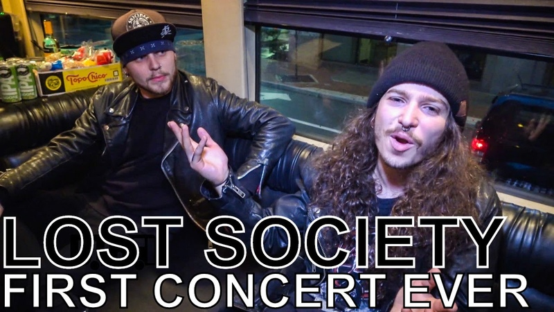 Lost Society - FIRST CONCERT EVER Ep. 60