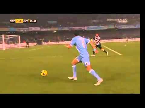 Napoli-Juventus 3-0 goal Cavani commento Auriemma 9-1-2011.flv