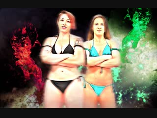 Mistress Kara vs. Cheyenne Jewel (Slow Motion Highlights)