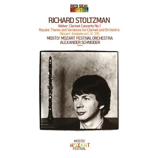Richard Stoltzman альбом Richard Stoltzman Plays Weber, Mozart & Rossini