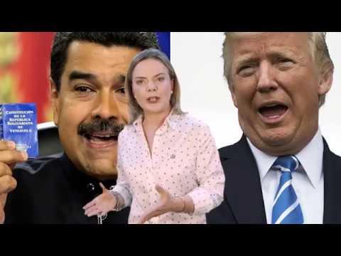 Gleisi Hoffmann explica o que está por trás dos ataques à Venezuela e ao povo venezuelano