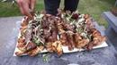 Очень сочный и вкусный шашлык из говяжьего филе с овощным салатом. Рецепт от Жоржа