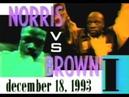 Terry Norris vs Simon Brown I - Highlights (Huge Upset KNOCKOUT)