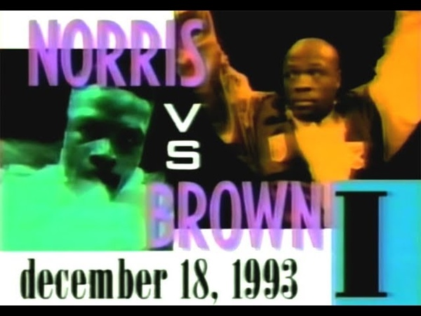Terry Norris vs Simon Brown I - Highlights (Huge Upset KNOCKOUT)