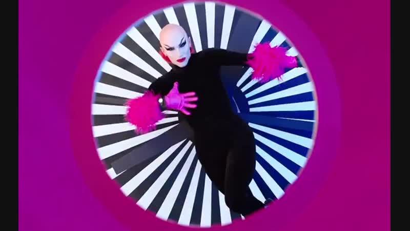 Sasha Velour Swatch Glam Video