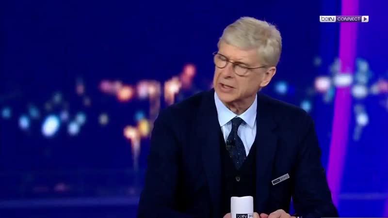 Арсен Венгер о матче Барселона Ливерпуль