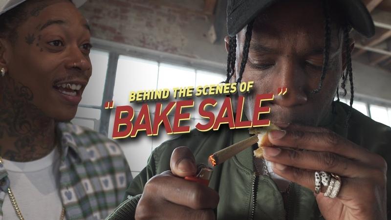 Behind the Scenes of Wiz Khalifa Travis Scott's BAKE SALE Music Video