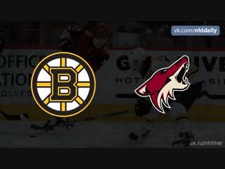 Boston Bruins – Arizona Coyotes, 18.11.2018