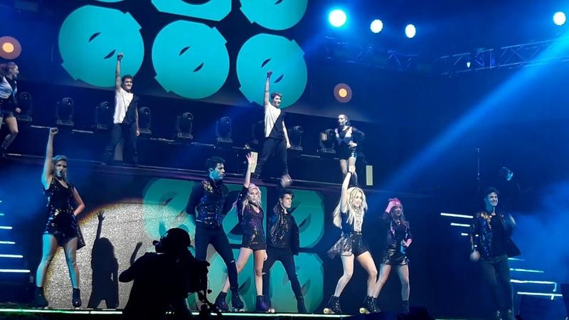 Soy Luna parte final del Show del Luna Park
