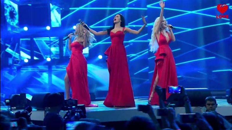 ВИА Гра выступление на Big Love Show 2016 ( 14.02.2016 )