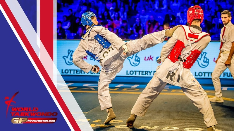 Manchester 2018 World Taekwondo GP-Final [Male -68Kg] Dae-hoon LEE(KOR) vs Mirhashem HOSSEINI(IRI)