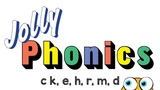 Jolly Phonics Sounds c k, e, h, r, m, d