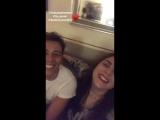 Инстаграм-история Мартины (22.09.18)