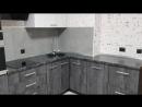 Кухня с фасадами Syncron Ice Jade