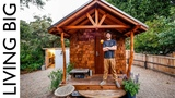 Off-Grid Artisan Tiny House Built To Escape Wildfires Living Big In A Tiny House