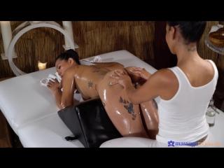 Canela Skin & Jureka Del Mar - Big butt Latina and tight Thai babe [Lesbian,1080p]