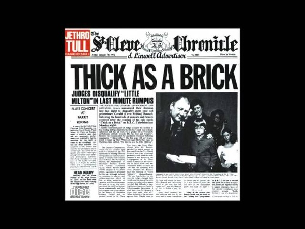 Jethro Tull Thick As A Brick Parte 1