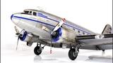 Douglas DC-3 trumpeter 148 Alaska Airlines - Aircraft Model