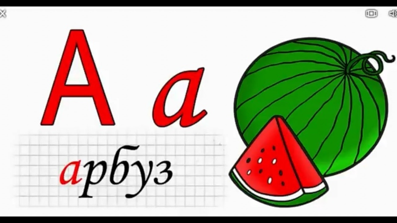 Учим буквы и звуки. Алфавит. Для детей. (0 )