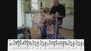 Steve Smith - Stick On Stick And Press Rolls Solo Phrases (Drum Transcription)