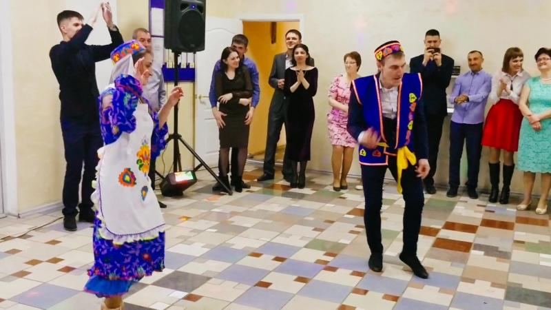 Татарский танец на свадьбе в Ульяновске