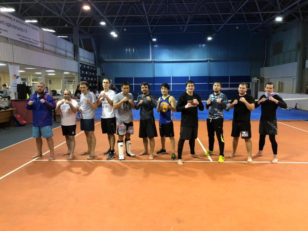 Тайский бокс снова в Раменках
