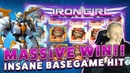 BIG WIN IRON GIRL - HUGE WIN on Casino Game from CasinoDaddy Live Stream