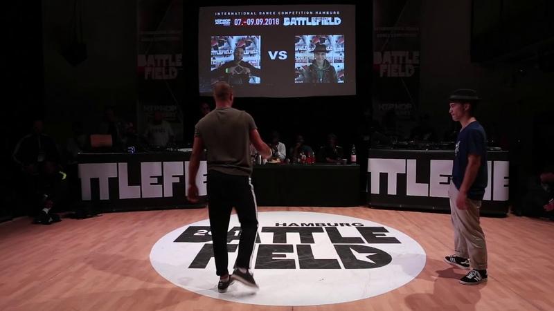 Battlefield 2018   Popping semi final   Sadeck vs Volt