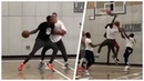 Kevin Durant & Aaron Gordon Trading Tough Buckets Against Each Other in a Pickup Game