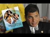 El presidente de Ecuador RAFAEL CORREA acepta de buen modo mensaje de los TESTIGOS DE JEHOV