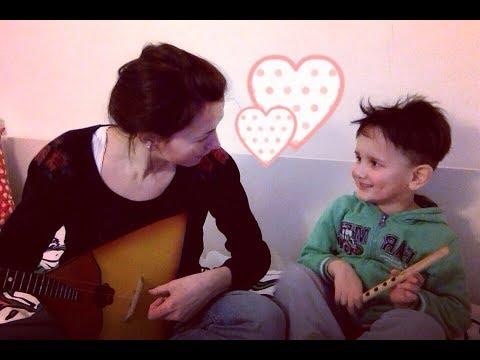 Припаренная Дичь - Молдавская народная песня с моим идеальным дудочником (из архивов)