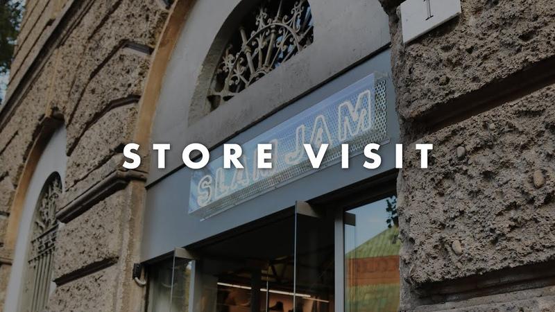 Store Visit Slam Jam Socialism