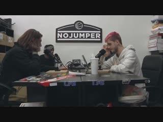 🌹Lil Peep 💔 at No Jumper Interview (Перевод)