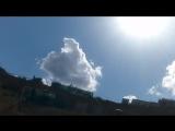 Любимовка. Облака и солнце