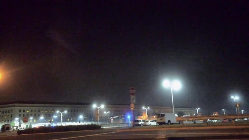 Пирамида НЛО над Пентагоном, 19 декабря 2018