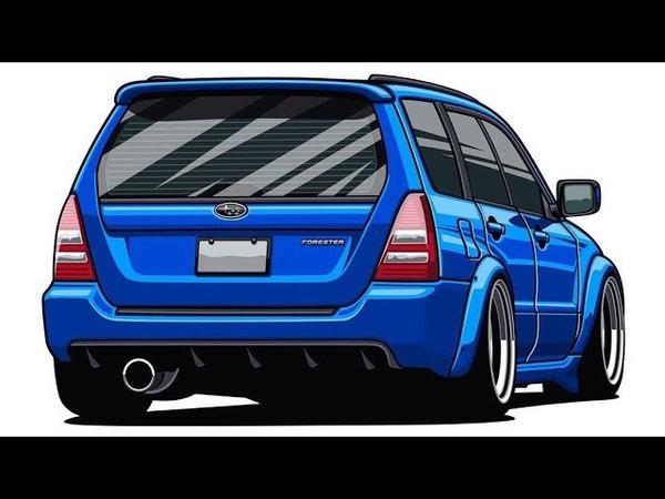Михалыч - помогай! Subaru Forester STI vs Жиги