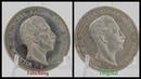 Münzfälschungen Tutorial So erkennst du falsche Kaiserreich Silbermünzen Fake 5 Mark Preussen