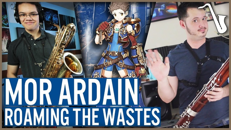 Xenoblade Chronicles 2 Mor Ardain Roaming the Was tes Jazz Arrangement insaneintherainmusic