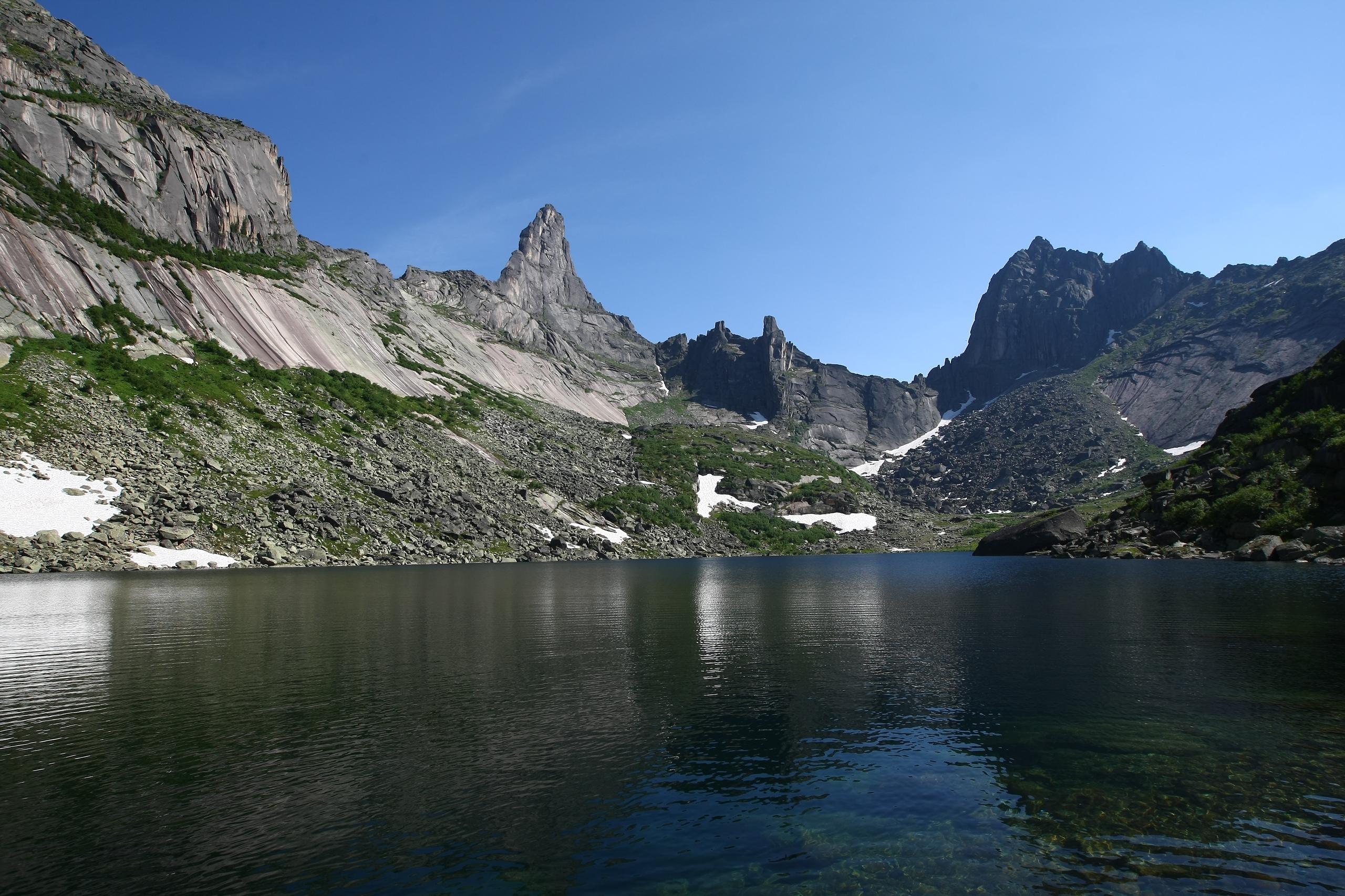 Озеро Горных духов и перевал Птица. Фото: Константин Бураков