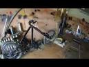 Реал Катка №6 доработка подрамника коляски и рамы байка