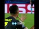 Эмоции Роналду