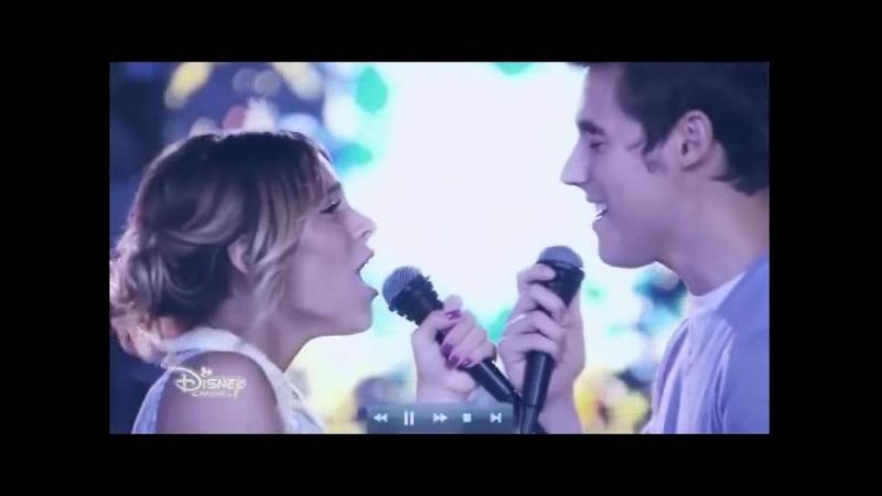 Violetta 3 - Violetta y Leon canta Descubri (Ep 63)