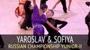 Yaroslav Kiselev Sofiya Filipchuk Rumba 2018 Russian Championship Yunior II
